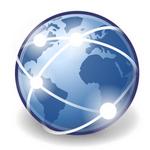 Логотип интернет