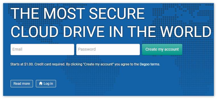 Официальный Сайт Degoo