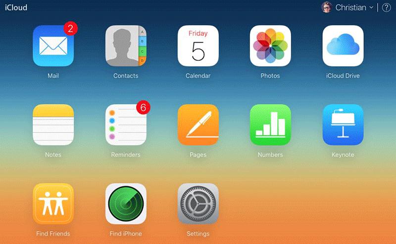 Вкладки в iCloud